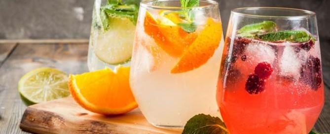 CÓCTELES SIN ALCOHOL PARA EL VERANO